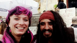 Pirate with Polish seminar participant