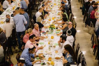 Shabbat dinner 3