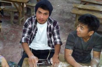 Matza baking in Manipur 4