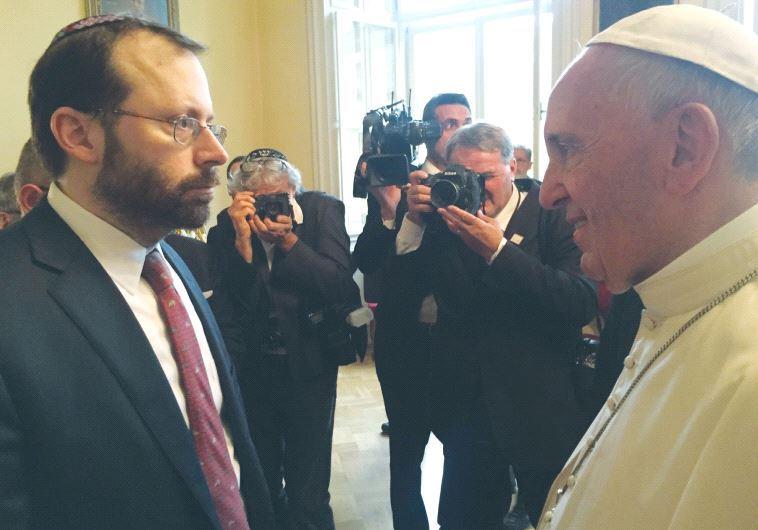 Zasadniczo FREUND: Spotkanie z papieżem Franciszkiem