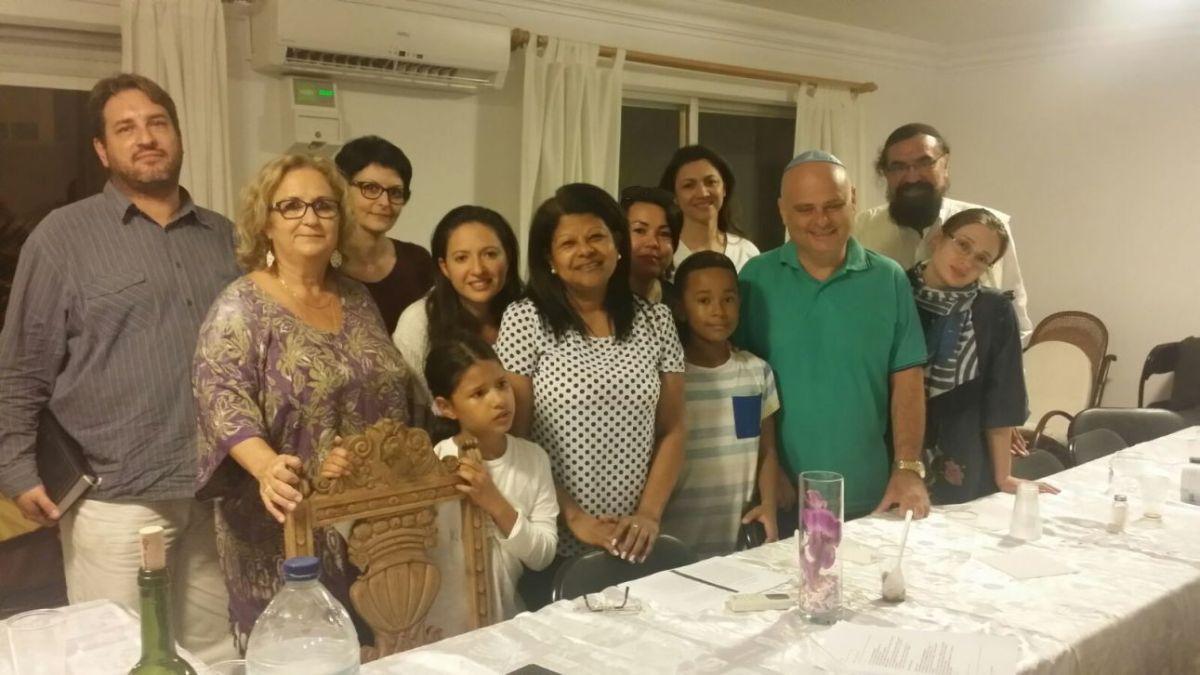 Rabin Elisha Salas rozpoczął pracę w społeczności w mieście Aliante w Hiszpani