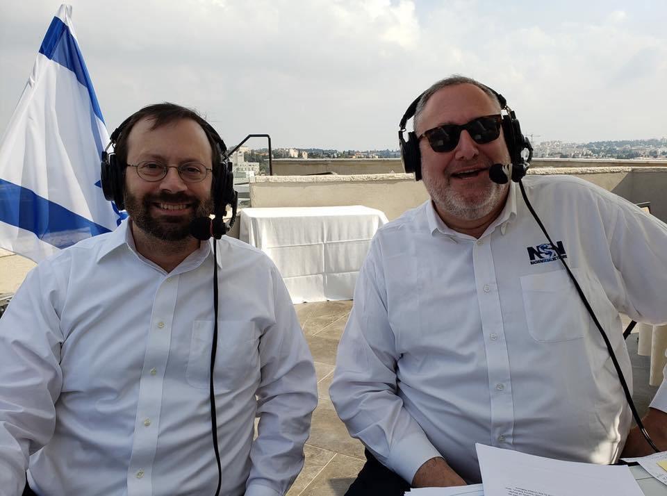 Michael Freund w Radio w Jerozolimie
