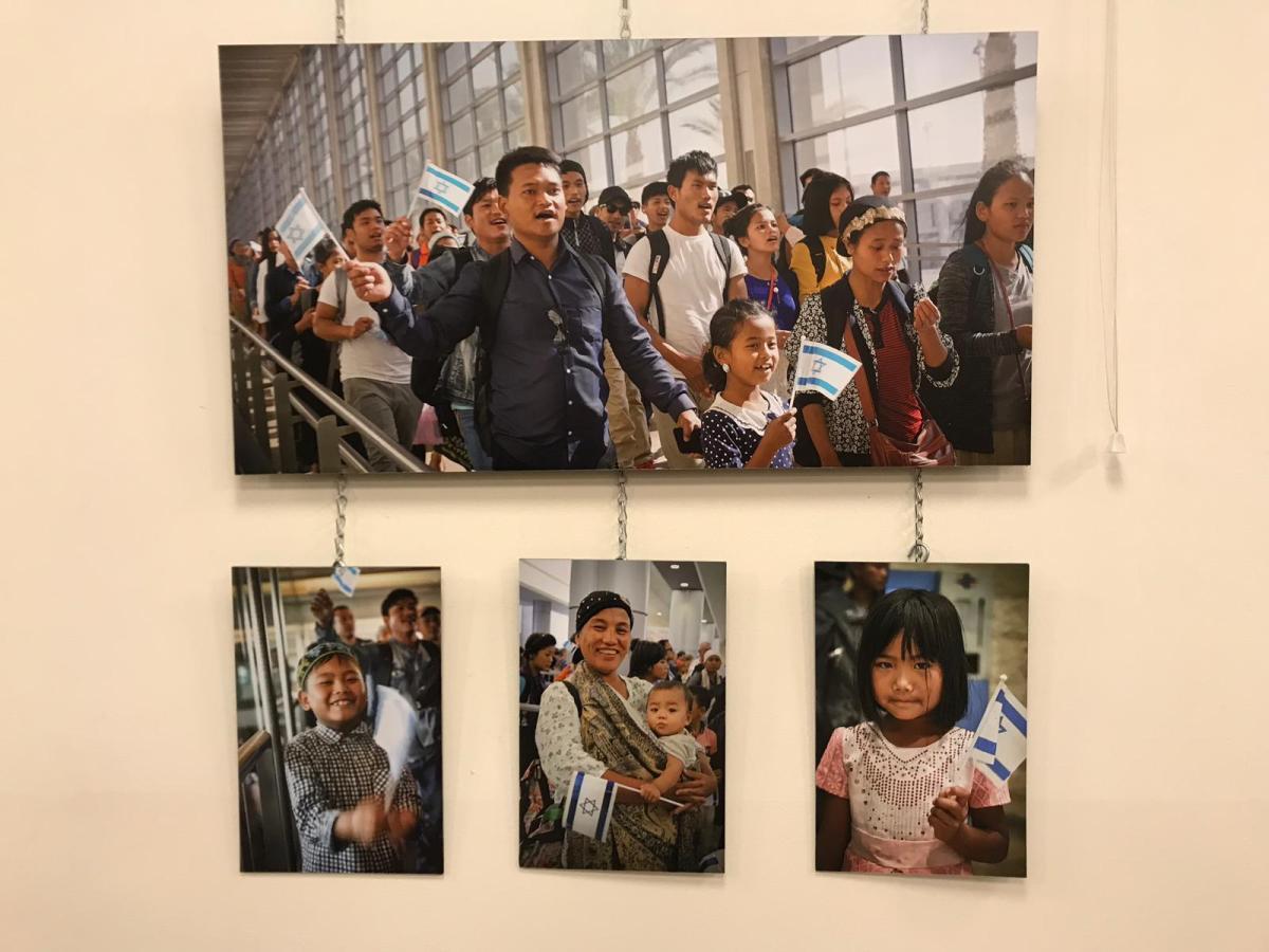 Piękna wystawa w Jerozolimie fotografii przedstawiająca Bnei Menasze