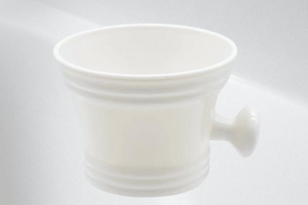 Shave Shop Classic Shaving mug (White Polymer)