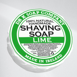 Dr K Soap Company Shaving Soap Lime.