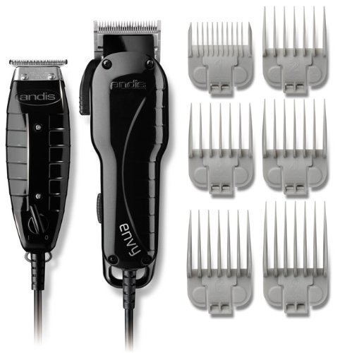 Andis Mens Electric Hair Clippers and Hair Trimmers Combo
