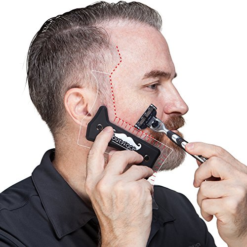 Butyface Beard Styling Tool Amp Shaping Template For Using