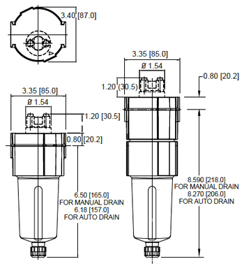 Oil Removal Filter SF60C / SF60H
