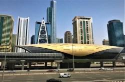 DUBAI CITY Metro station