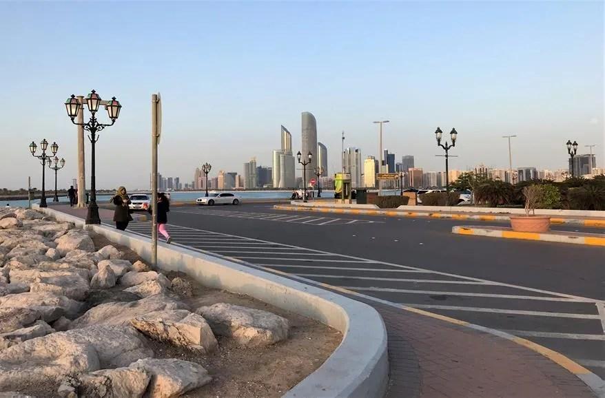 A leisure walk at Corniche- ABU DHABI