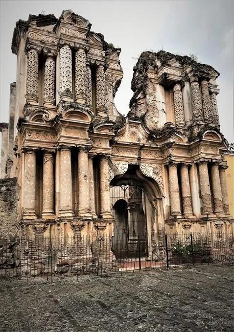 Facade of Our Lady El Carmen