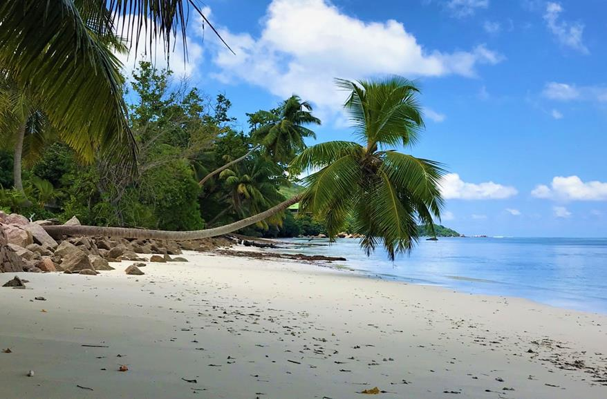 Praslin beach, Seychelles