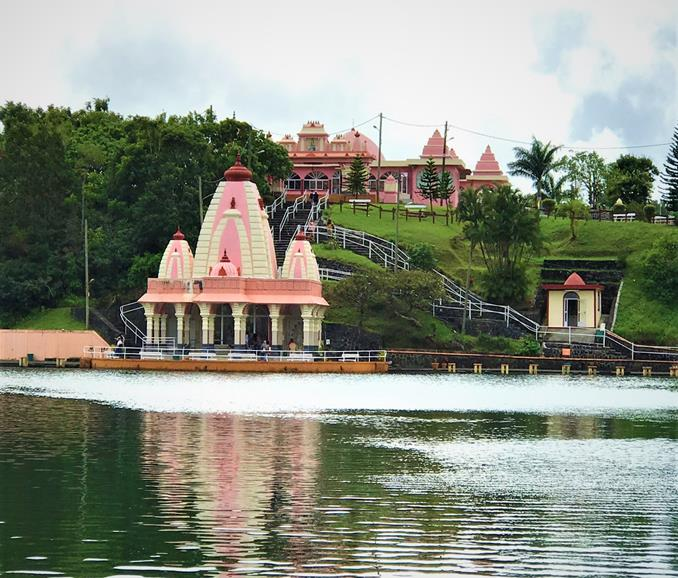 The biggest Hindu Temple in Mauritius