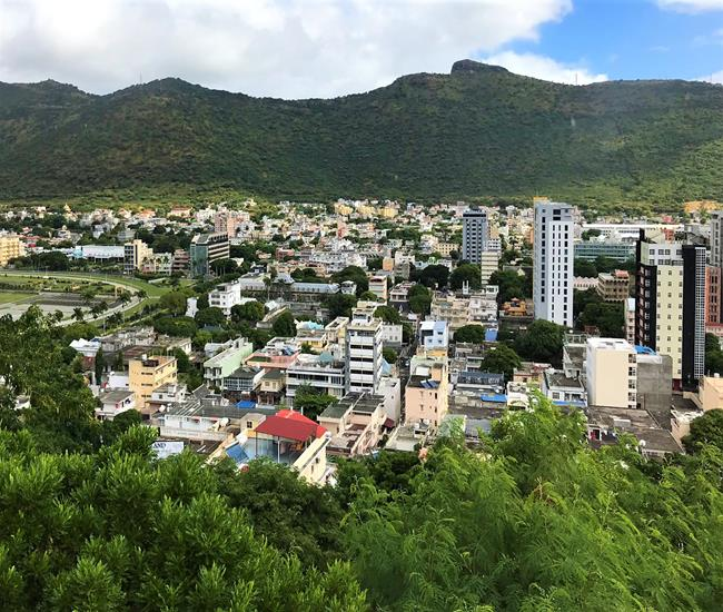 View from the Citadel - Port Louis, Mauritius