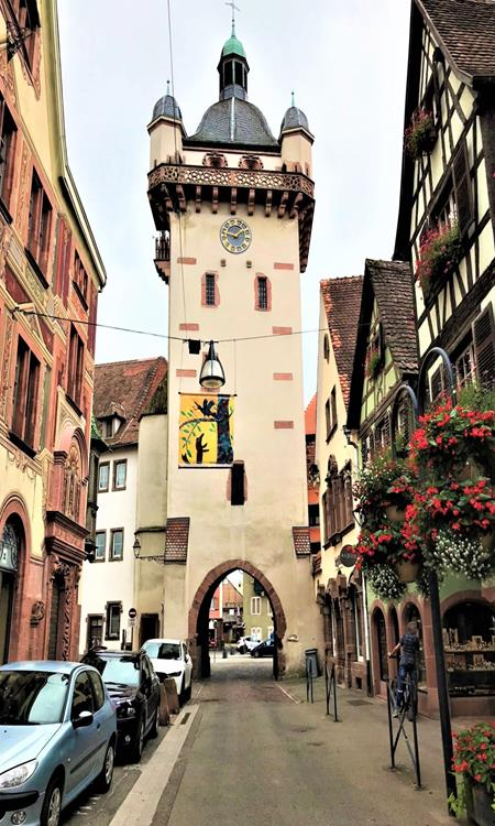 Old gate of Selestat Alsace