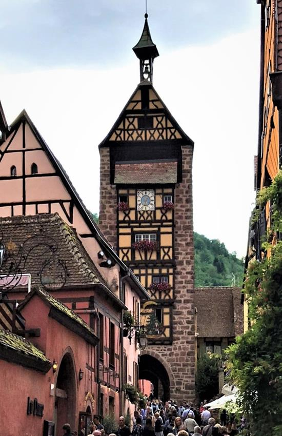 The ancient tower of Riquewihr