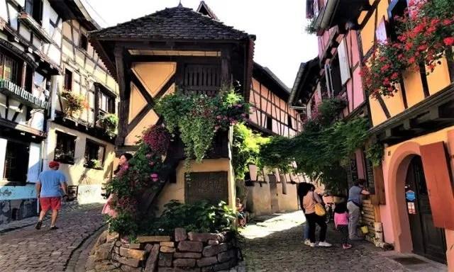 A quint town of Eguisheim
