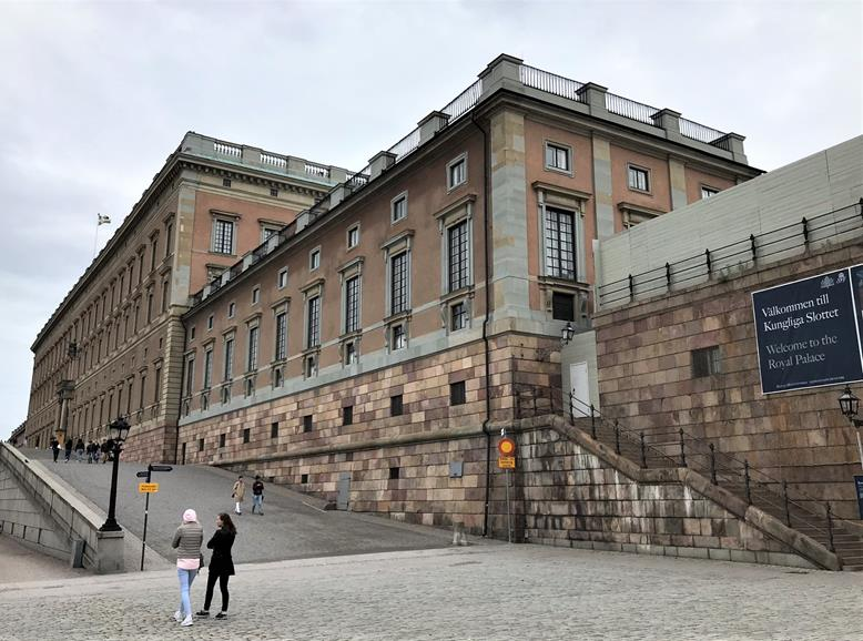 The royal palace - Stockholm, Sweden