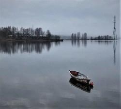It's cold and dark in winter in Helsinki