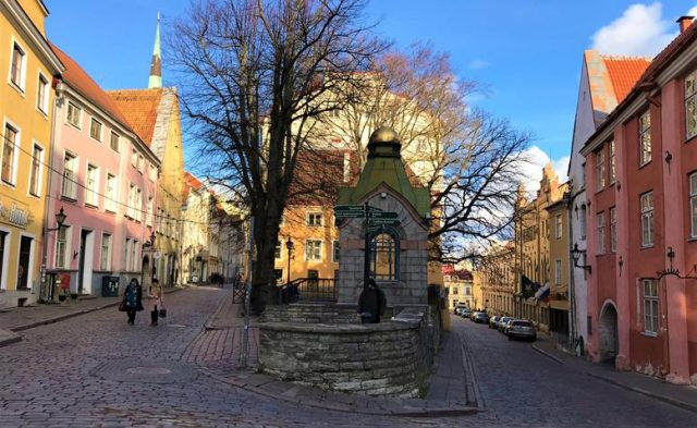 Tallinn's historic town
