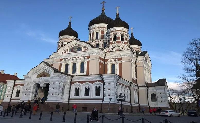 Alexander Nevsky Cathedral- Tallinn