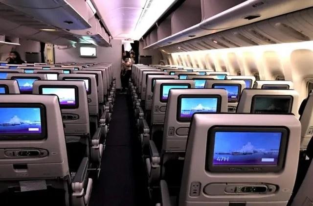 Qatar Airways economy class