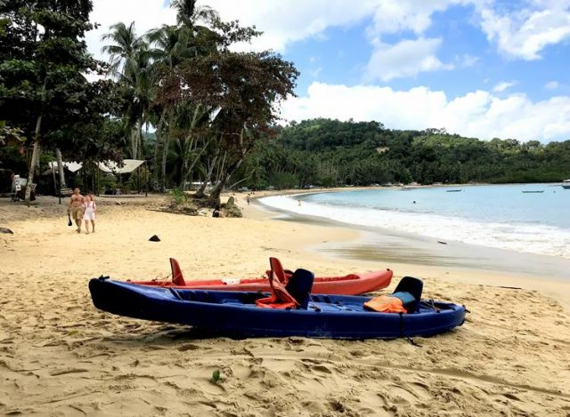 Kayaking is another option of things to do in Port Barton