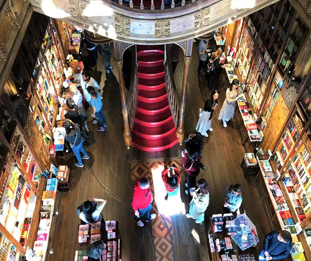 Livraria Lello one of the oldest bookstores in Portugal