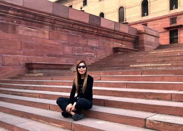Indian Parliament Building Delhi