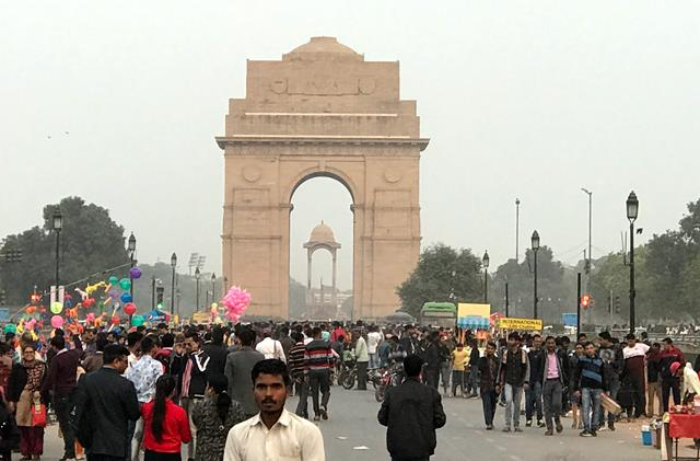 The massive structure of India Gate