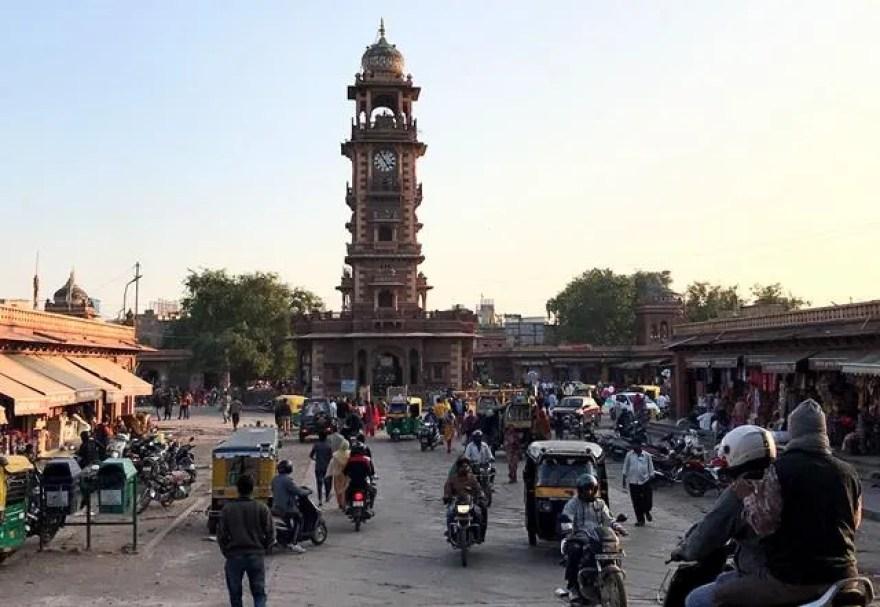 The heart of the city of Jodhpur