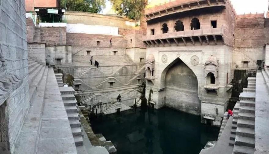 The ancient stepwell in Jodhpur