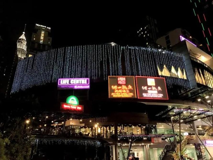 Night amusement in Kuala Lumpur
