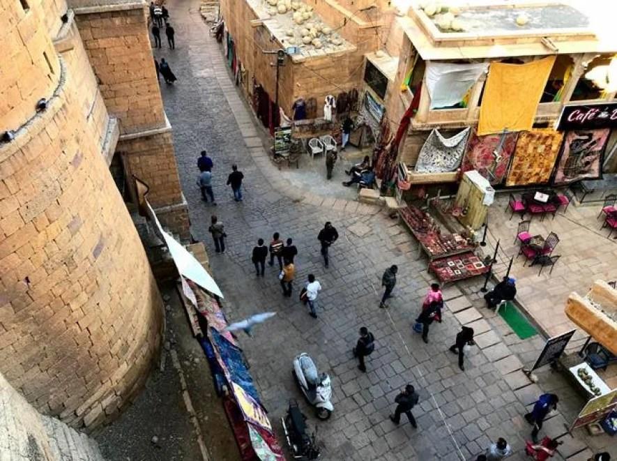 Jaisalmer's city view