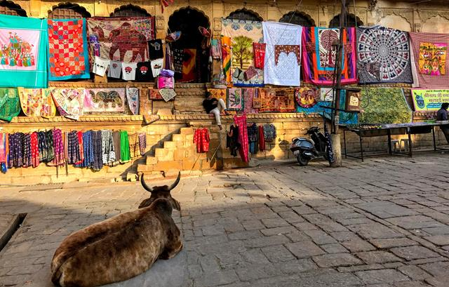 The old town of Jaisalmer