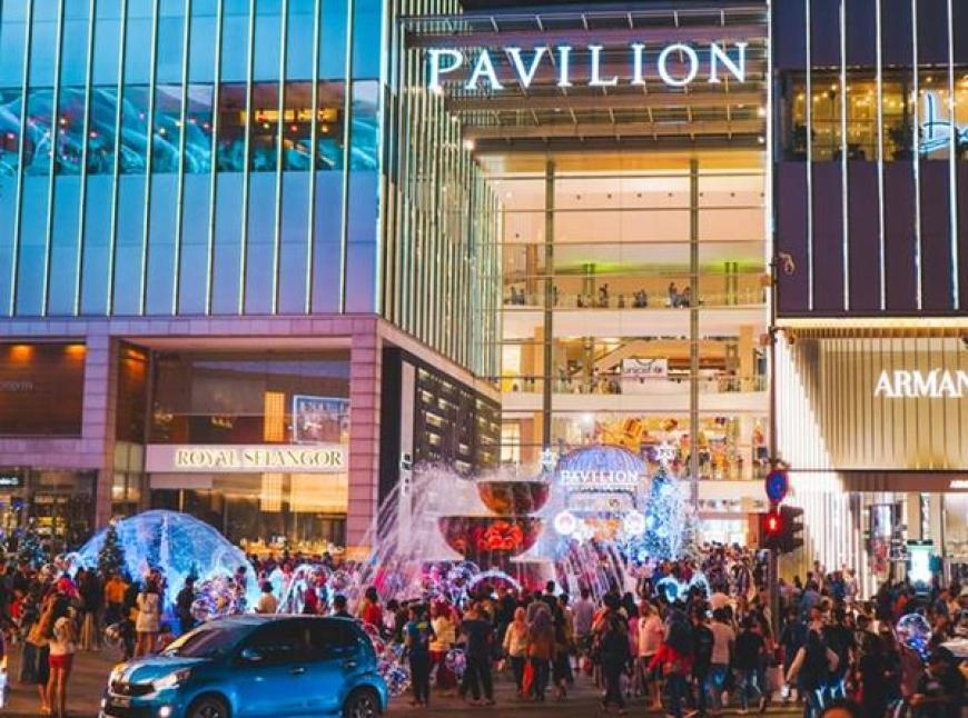 Pavillion mall Bukit Bintang Kuala Lumpur