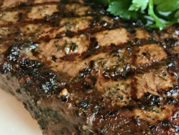 Balsamic Marinated Steak