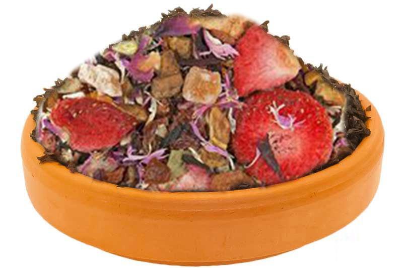 Chocolate Strawberry Herbal