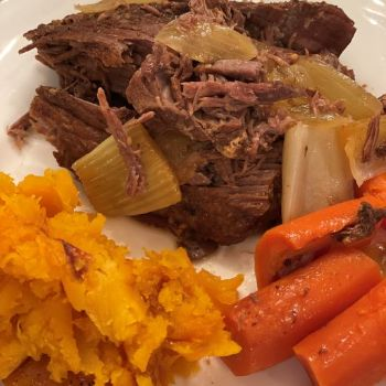 Garlic Herb Beef Roast