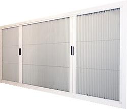 喜室隱形紗窗-折紗 - 宜蘭雙好鋁門窗