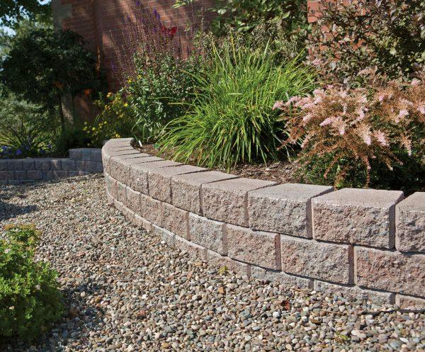 Wall Stone  Classic WedgeStone Garden Walls  Shaw Brick