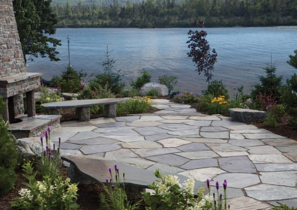 installing patio stones - 5 easy