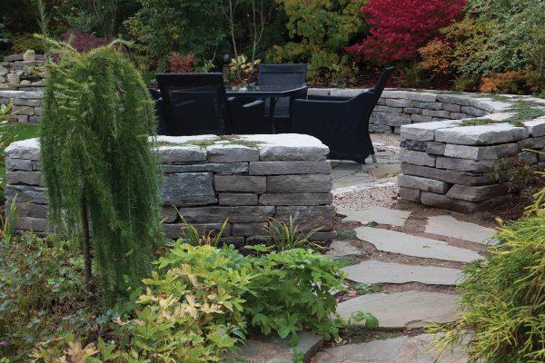 natural stone random wall