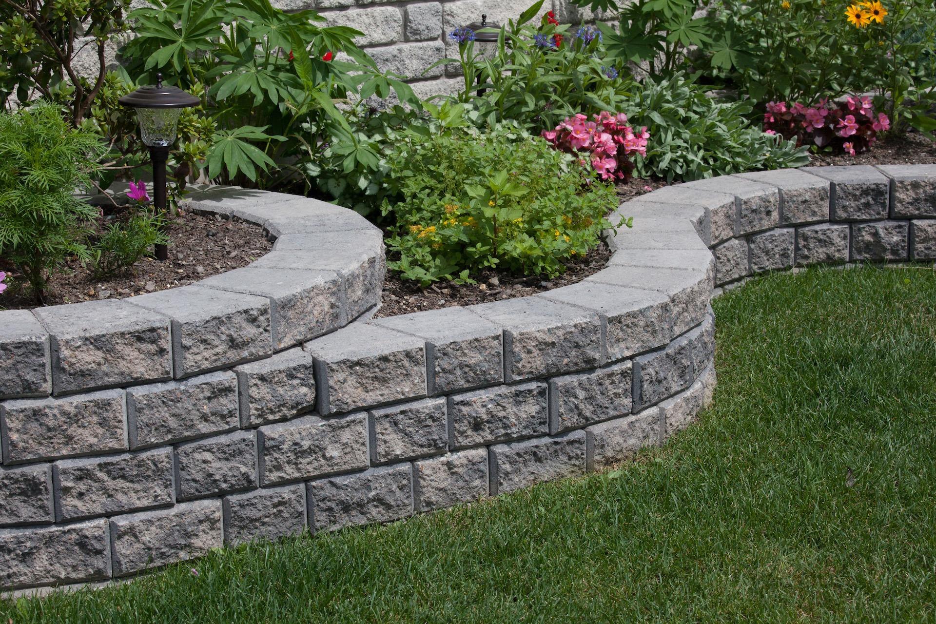 stack stone landscape blocks