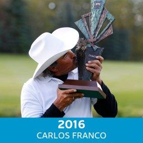 2016 Winner - Carlos Franco