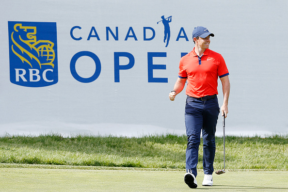 Rory McIlroy at the RBC Canadian Open 2019