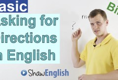 Asking for Directions in English