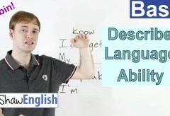 Describe Your English Language Ability
