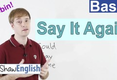 """Ask to """"Say It Again"""" in English"""