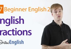How to Express Fractions in English
